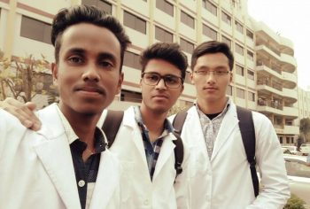 Student sent by Global Medical Foundation to Southern Medical College for MBBS in Bangladesh.