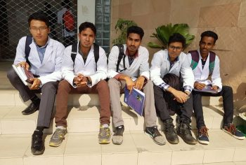 Student sent by Global Medical Foundation for MBBS in Bangladesh.
